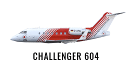 Challenger 604 - Air Ambulance Jet