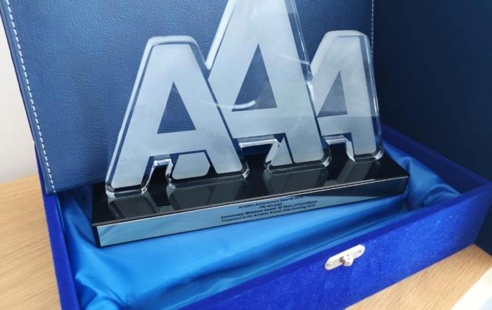 FAI Aviation Achievement Award.